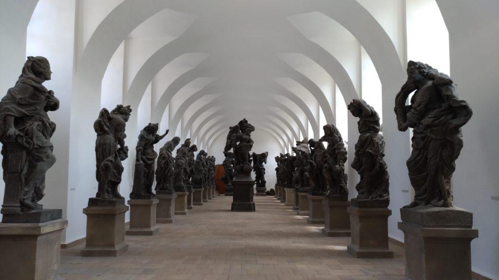 Barokní sochy Kuks